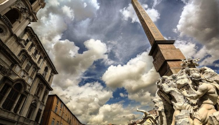 Shall we visit the famous Piazza Navona (Navona Square) in Rome?