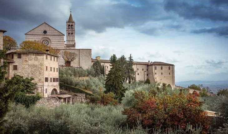 Let's visit Assisi, the hometown of Saint Francis