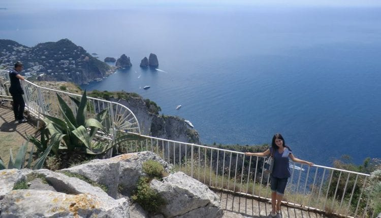 How to go to Capri from Rome?