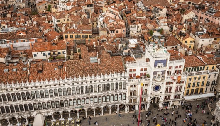 The most beautiful panoramic views of Venice