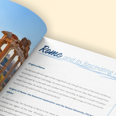 Your Travel to Italy - Ebook Rome - internal1